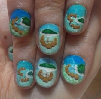 Maldives nails
