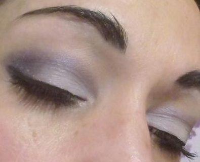 Purple night 2018 makeup