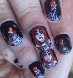 Vampires nails