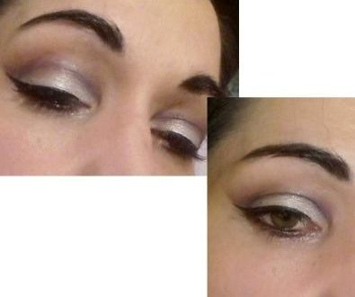 Bright cut crease