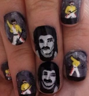 Freddie Mercury nails