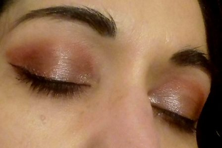 Holidays eyes makeup