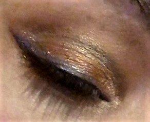 Colorfull eyes makeup