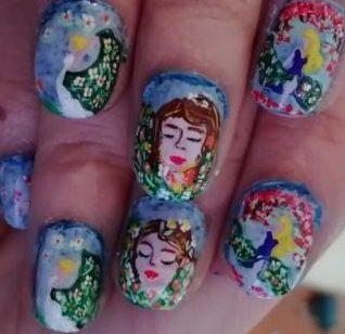 Spring spirit nails