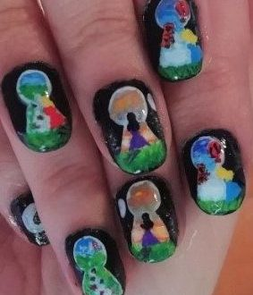 Spy world nails