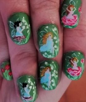 Woodland creatures nails