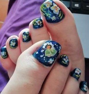 Butterflies feet