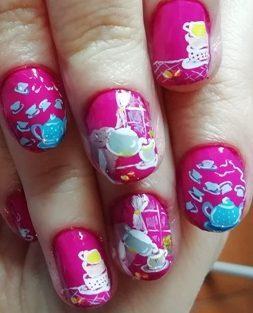 Teatime nails