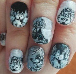 Huskys nails