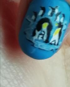 penguins nails