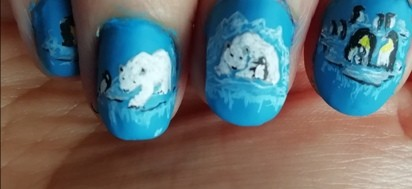 penguins and bears nails