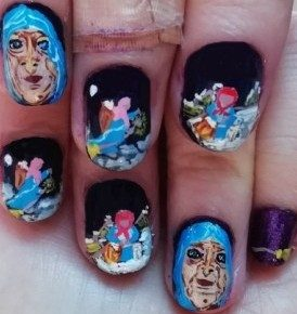 Befana epiphany nails