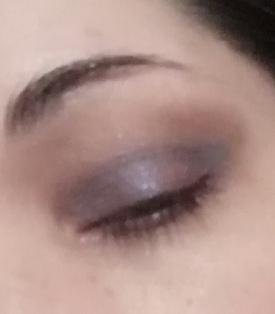 soft violet look