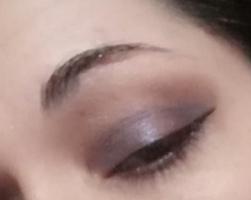 soft violet makeup