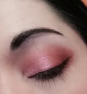 rose and red look