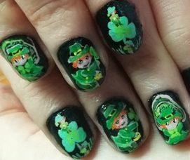 S.Patrick's nails 2020