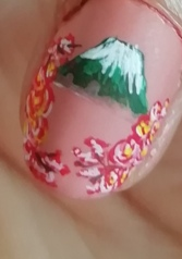 japanese flowers nails
