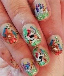 Spring birds nails