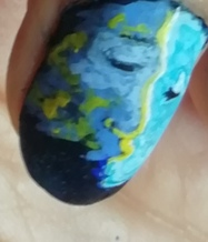 space nail art