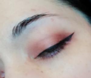 glamour makeup look