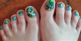 ladybugs feet