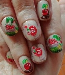 Cherries nails