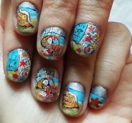 shells nails