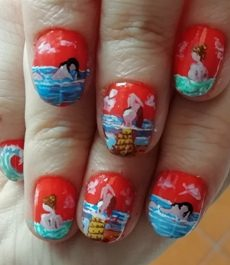 Summer ladies nails