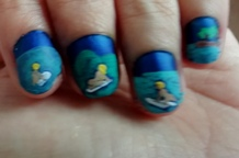surfing nails