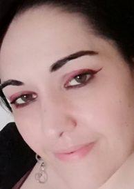Rouge eyeliner look