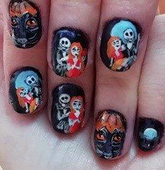 Halloween 2020 nails