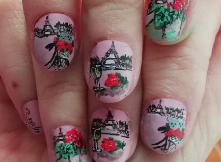 Romantic Paris nails