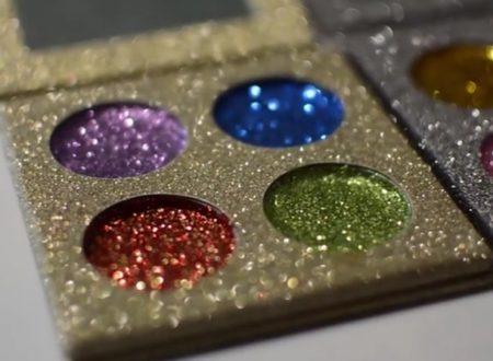 Ombretti glitter homemade