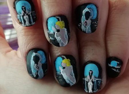 Moon goddess nails