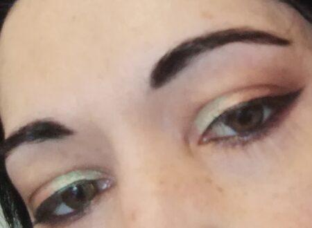 Spring glam makeup