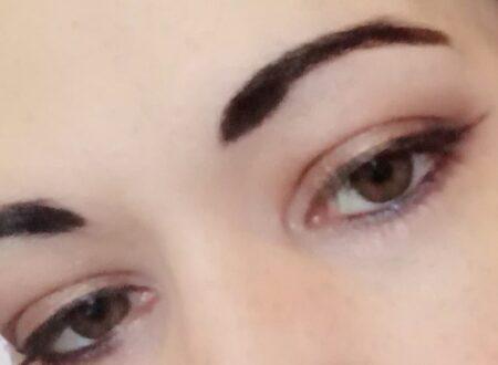 Bronze smokey makeup