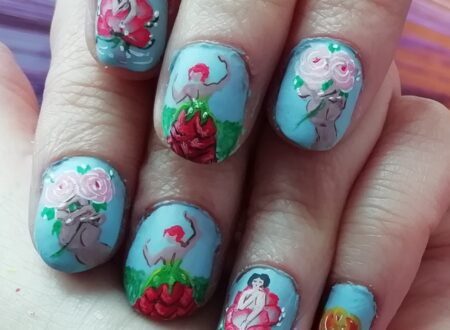 FLOWER PERSONIFICATION NAILS